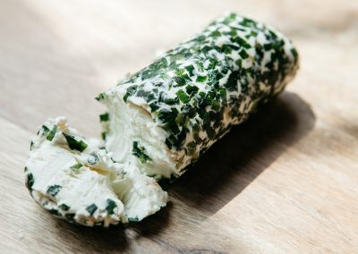 Garlic Chive Chèvre